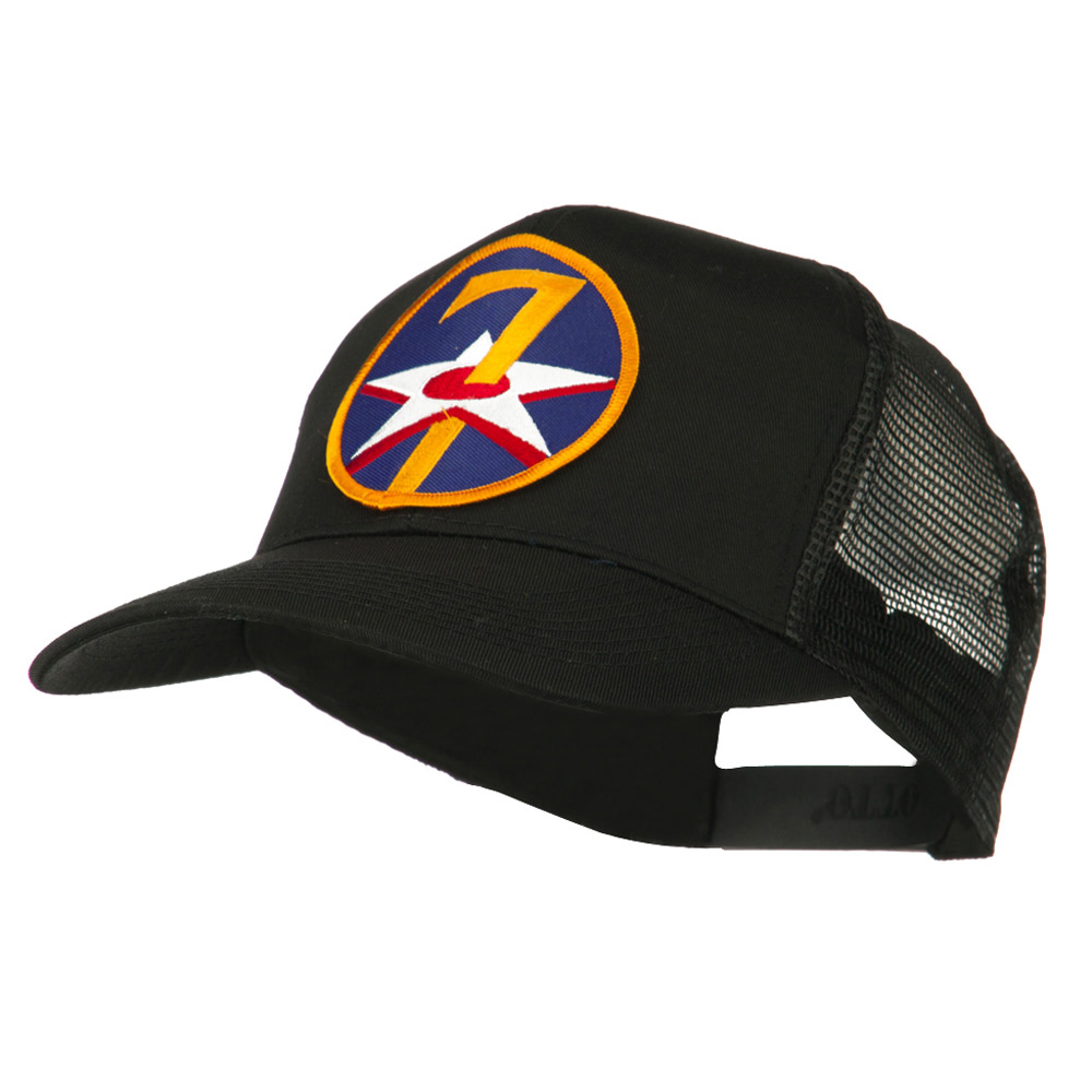 Air Force Division Embroidered Military Patch Cap - 7th - Hats and Caps Online Shop - Hip Head Gear