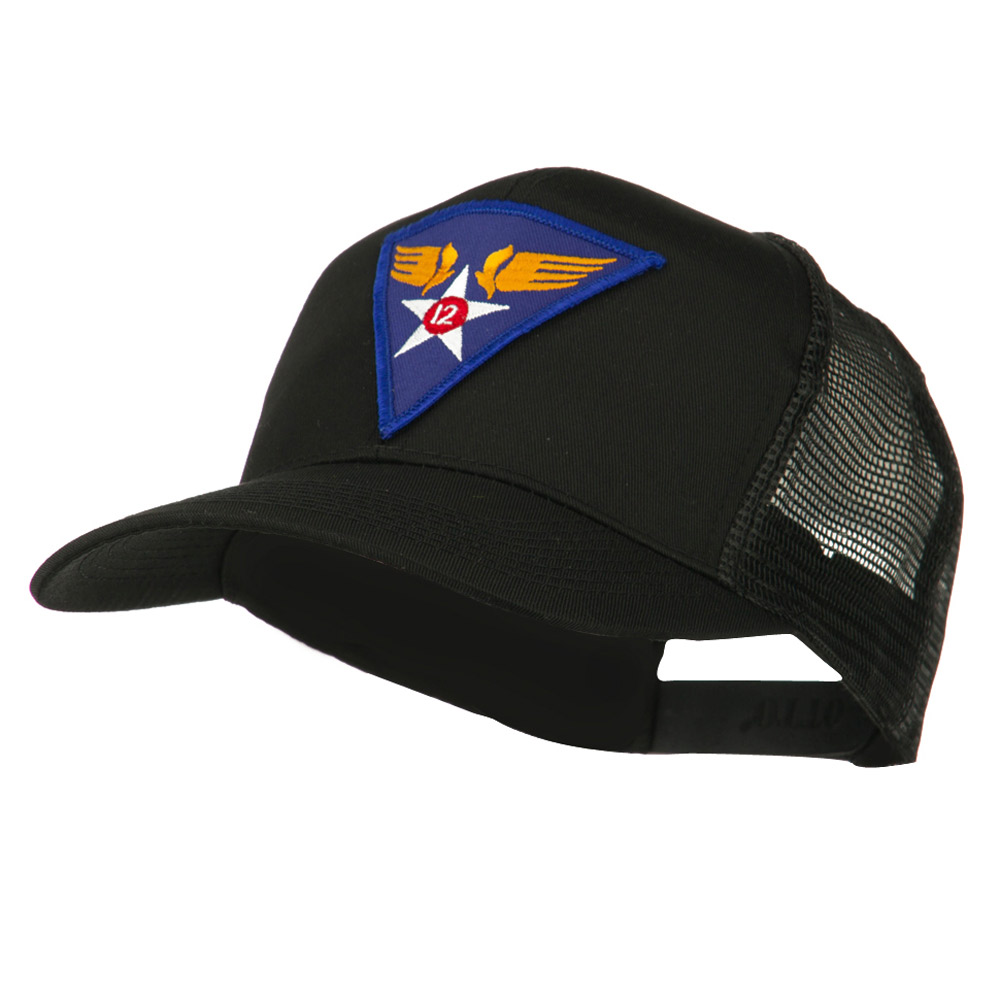 Air Force Division Embroidered Military Patch Cap - 12th - Hats and Caps Online Shop - Hip Head Gear