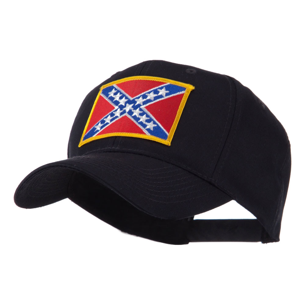 Flag Style Embroidered Patch Cap - Rebel - Hats and Caps Online Shop - Hip Head Gear