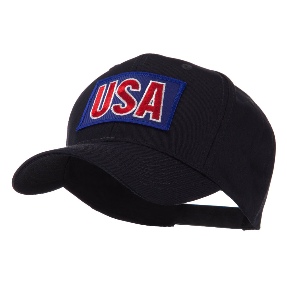 Flag Style Embroidered Patch Cap - USA 2 - Hats and Caps Online Shop - Hip Head Gear