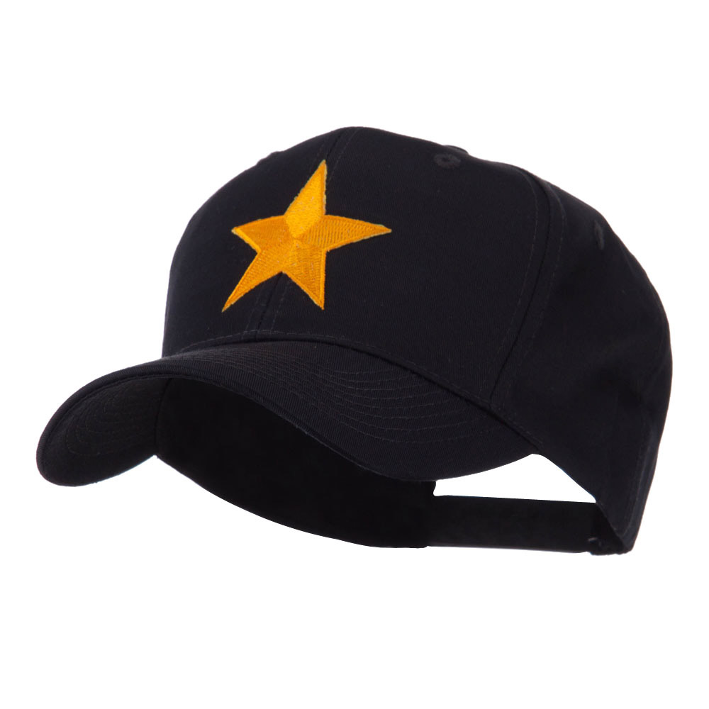 Flag Style Embroidered Patch Cap - One Star - Hats and Caps Online Shop - Hip Head Gear