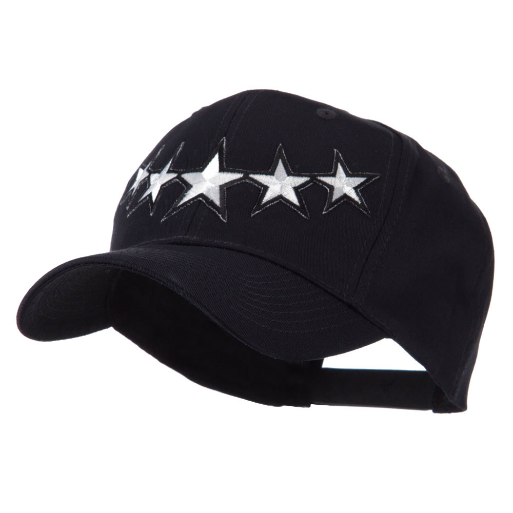 Flag Style Embroidered Patch Cap - Silver - Hats and Caps Online Shop - Hip Head Gear