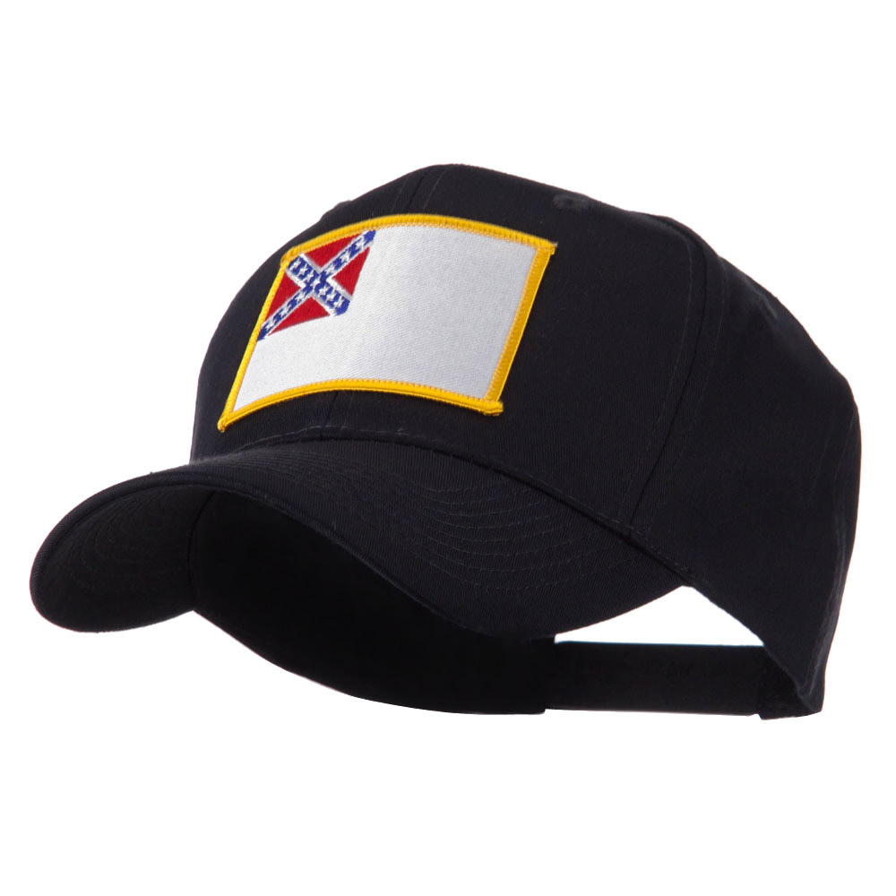 Flag Style Embroidered Patch Cap - 2nd Confederate - Hats and Caps Online Shop - Hip Head Gear