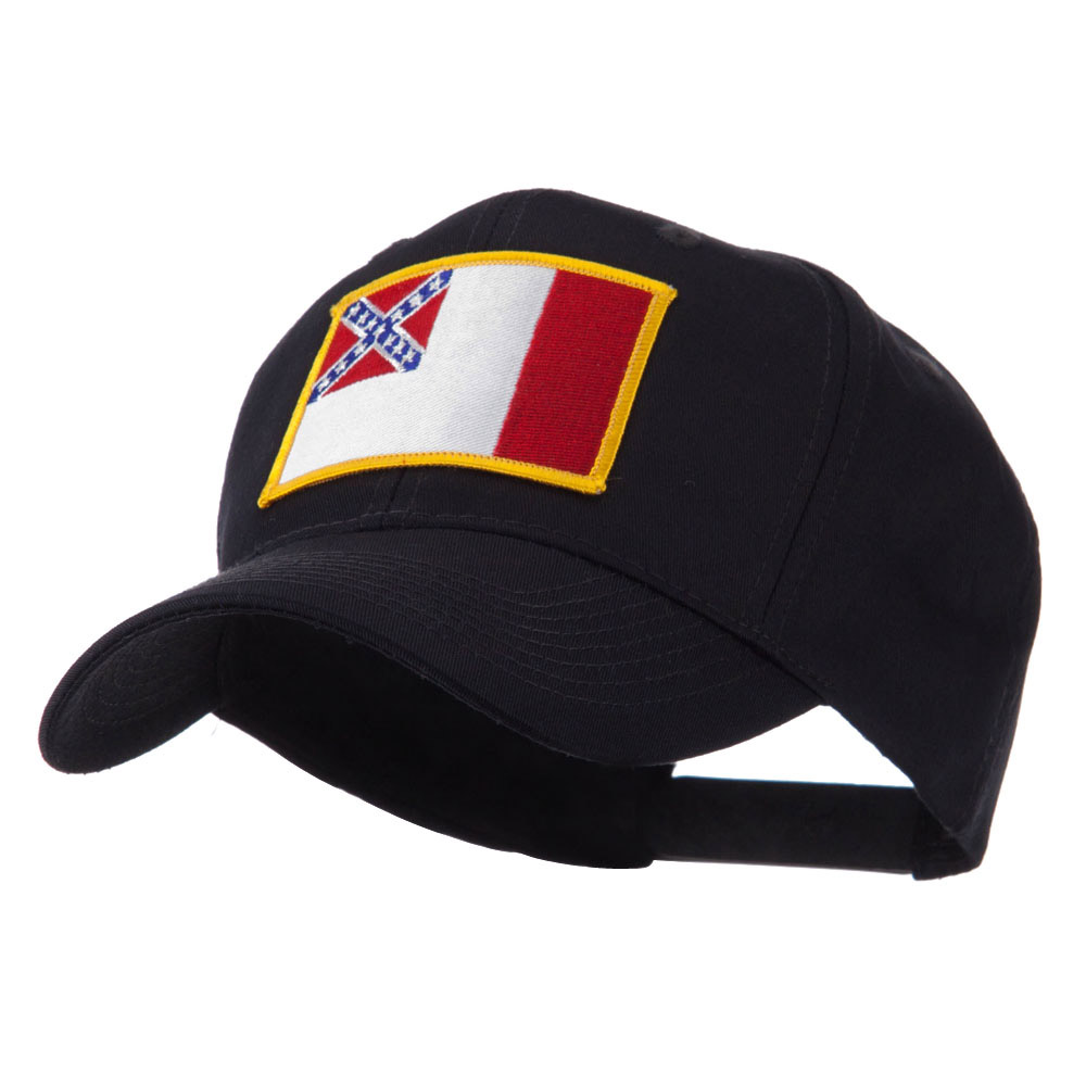 Flag Style Embroidered Patch Cap - 3rd Confederate - Hats and Caps Online Shop - Hip Head Gear