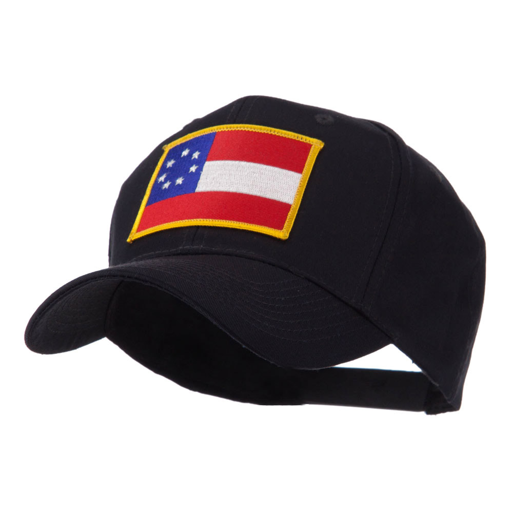Flag Style Embroidered Patch Cap - Star - Hats and Caps Online Shop - Hip Head Gear