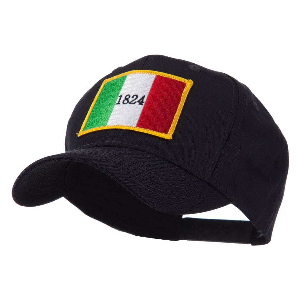 Flag Style Embroidered Patch Cap - Alamo - Hats and Caps Online Shop - Hip Head Gear