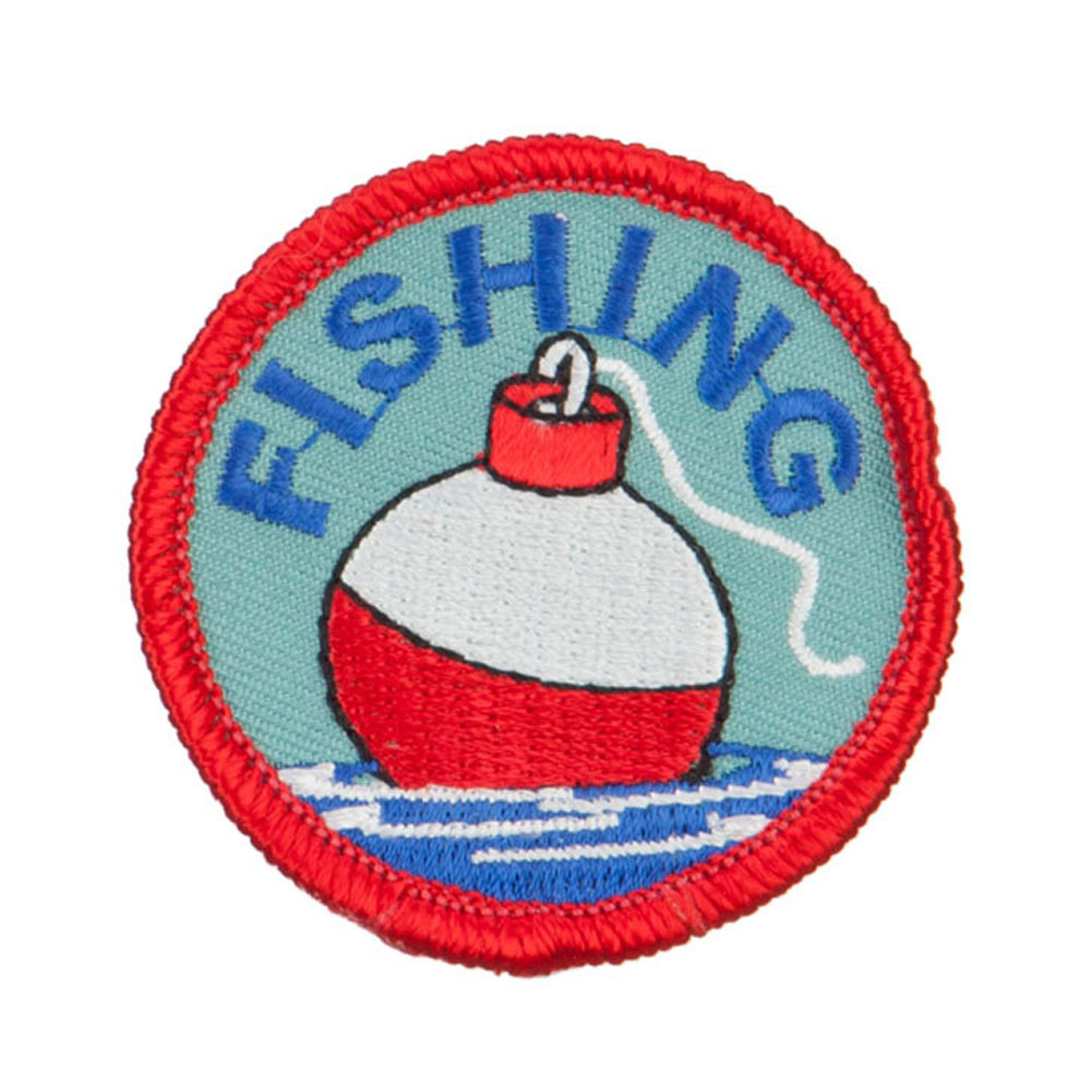 Fishing Outdoor Patches - Bobber