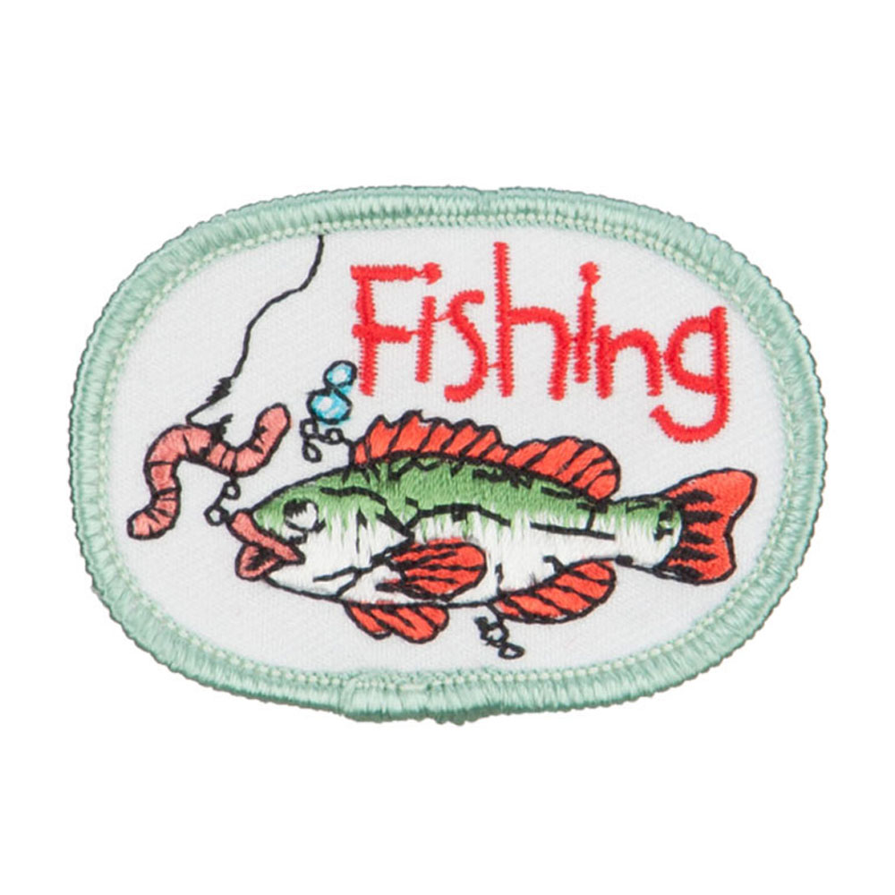 Fishing Outdoor Patches - Worm