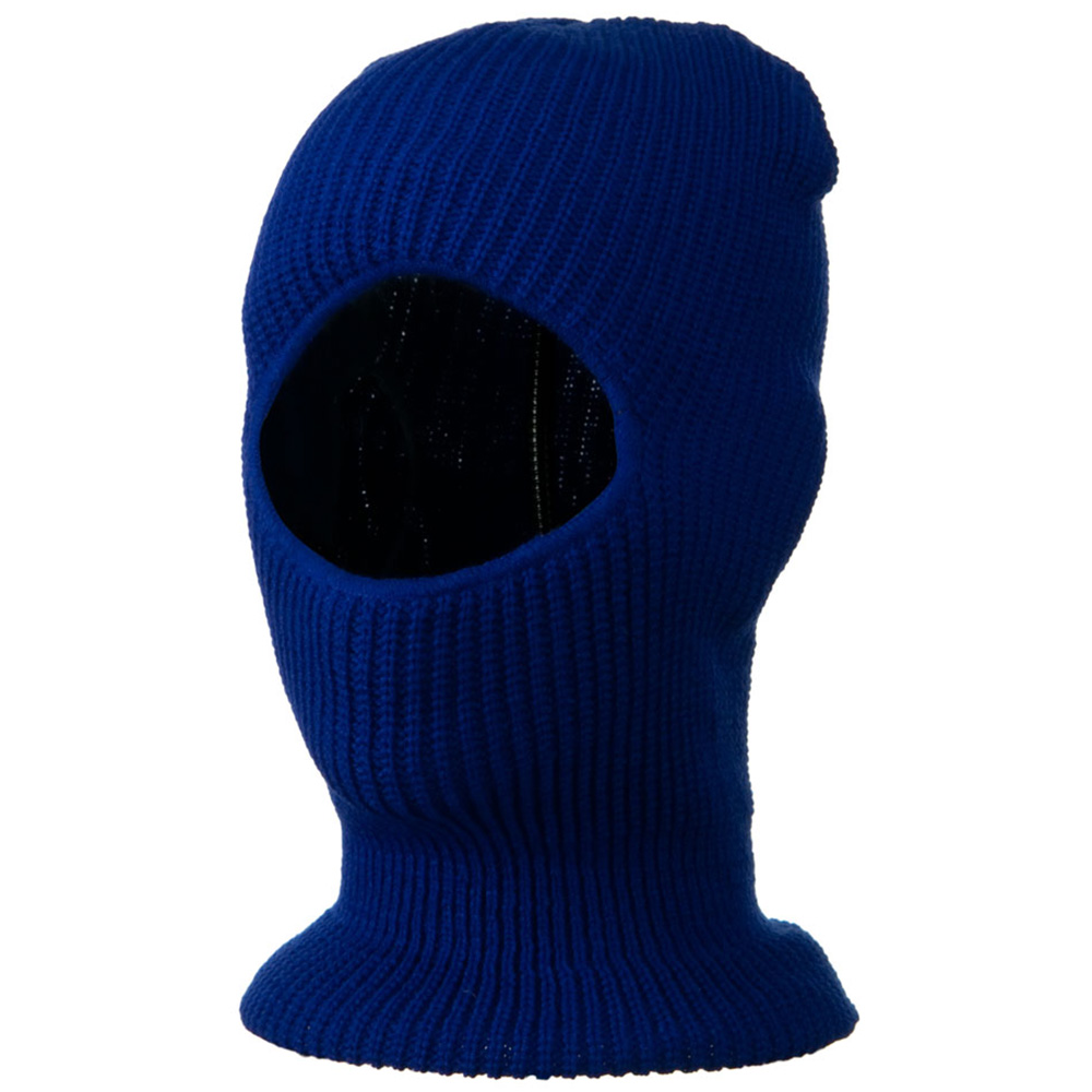 Face Mask with One Hole - Royal
