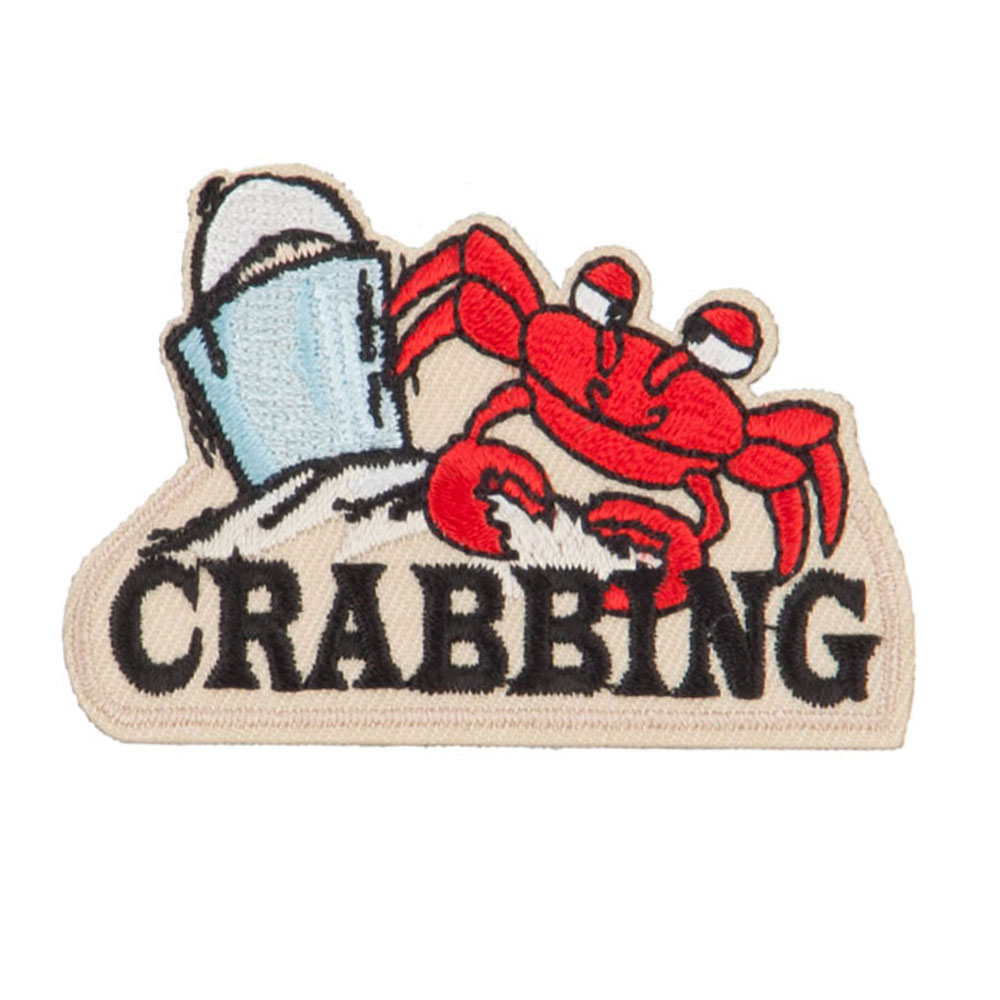 Fishing Outdoor Patches - Crab