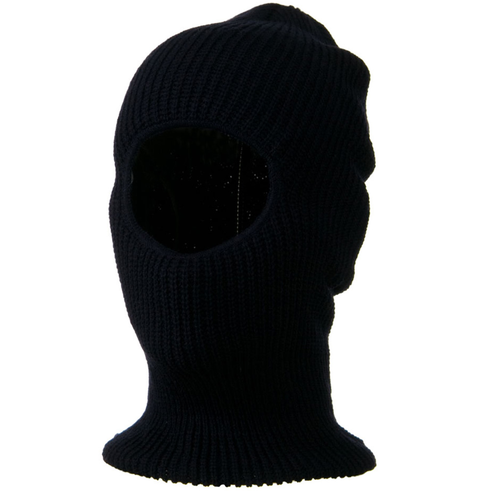 Face Mask with One Hole - Navy - Hats and Caps Online Shop - Hip Head Gear