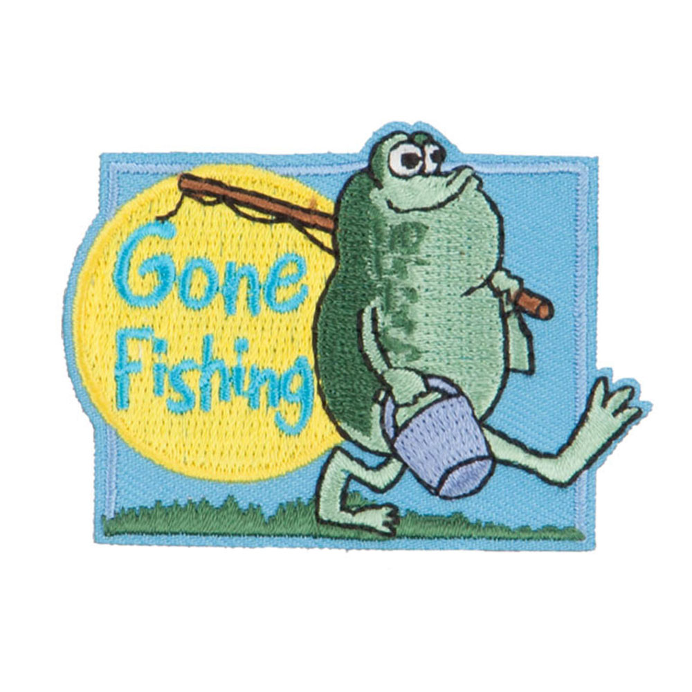 Fishing Outdoor Patches - Gone