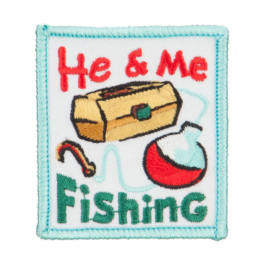 Fishing Outdoor Patches - He Me