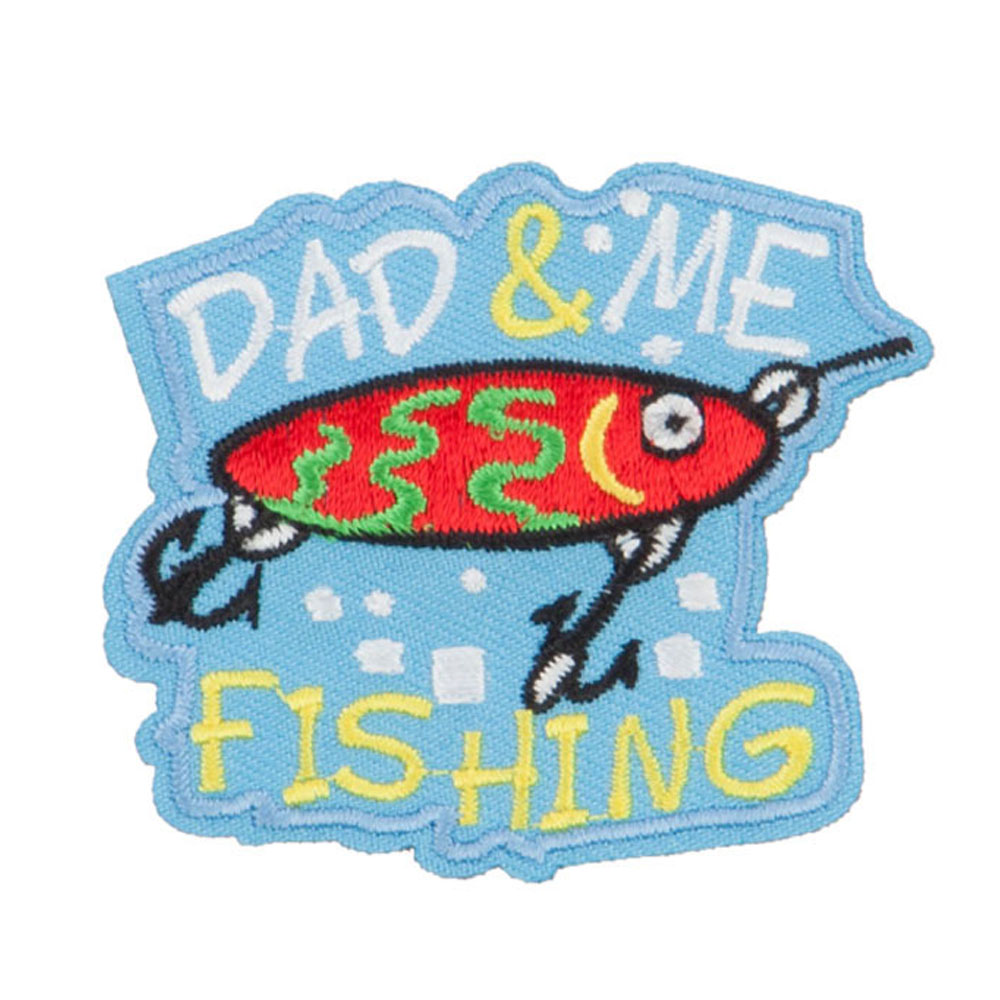 Fishing Outdoor Patches - Dad Me