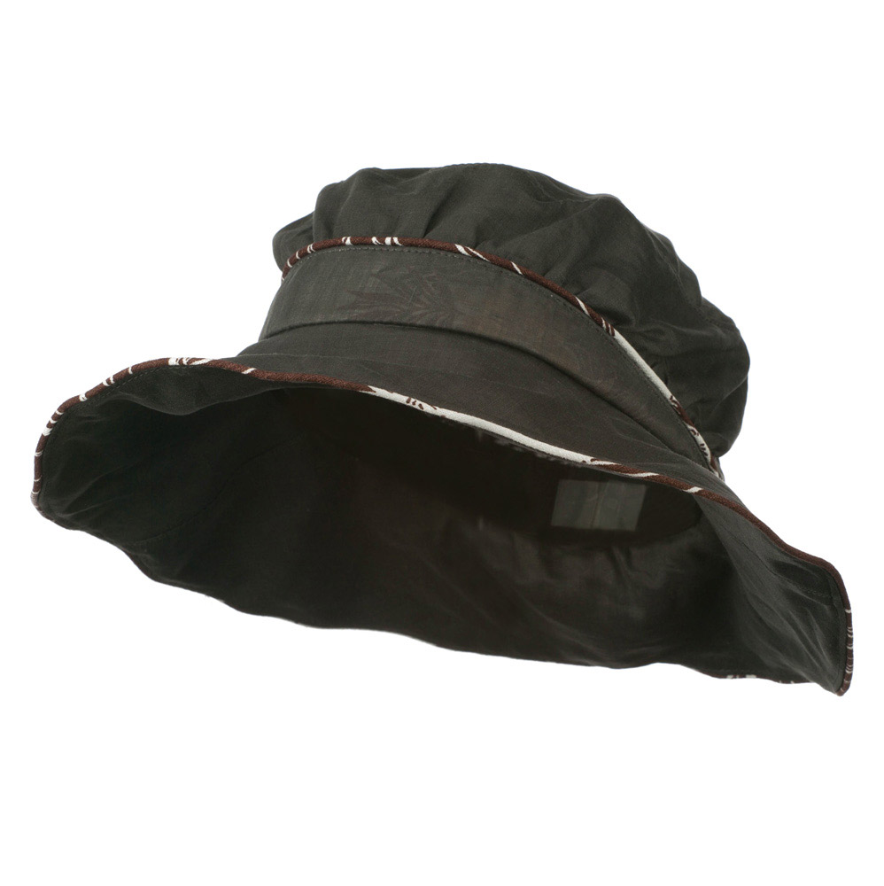 Infinity Selection Ladies Fashion Flower Hat - Charcoal - Hats and Caps Online Shop - Hip Head Gear