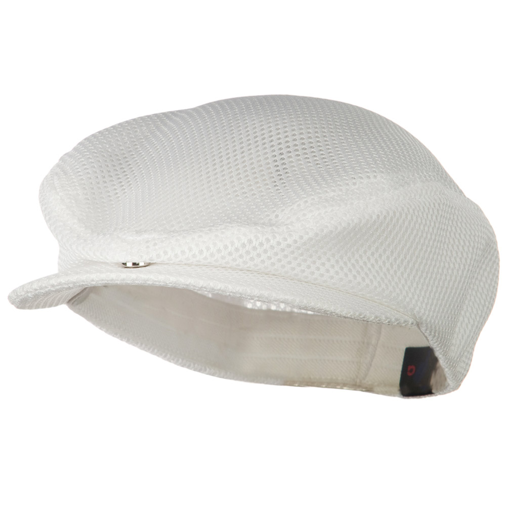 Fashion Mesh Ivy Cap - White - Hats and Caps Online Shop - Hip Head Gear