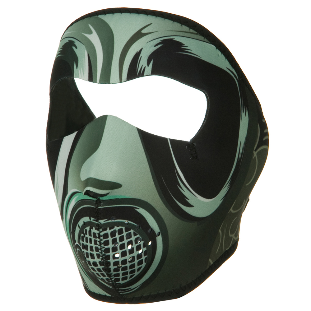 Neoprene Full Face Mask - Gas Mask - Hats and Caps Online Shop - Hip Head Gear