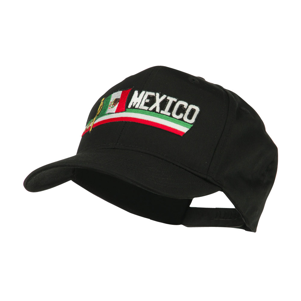 Flag and Name Patched Cap - Mexico - Hats and Caps Online Shop - Hip Head Gear