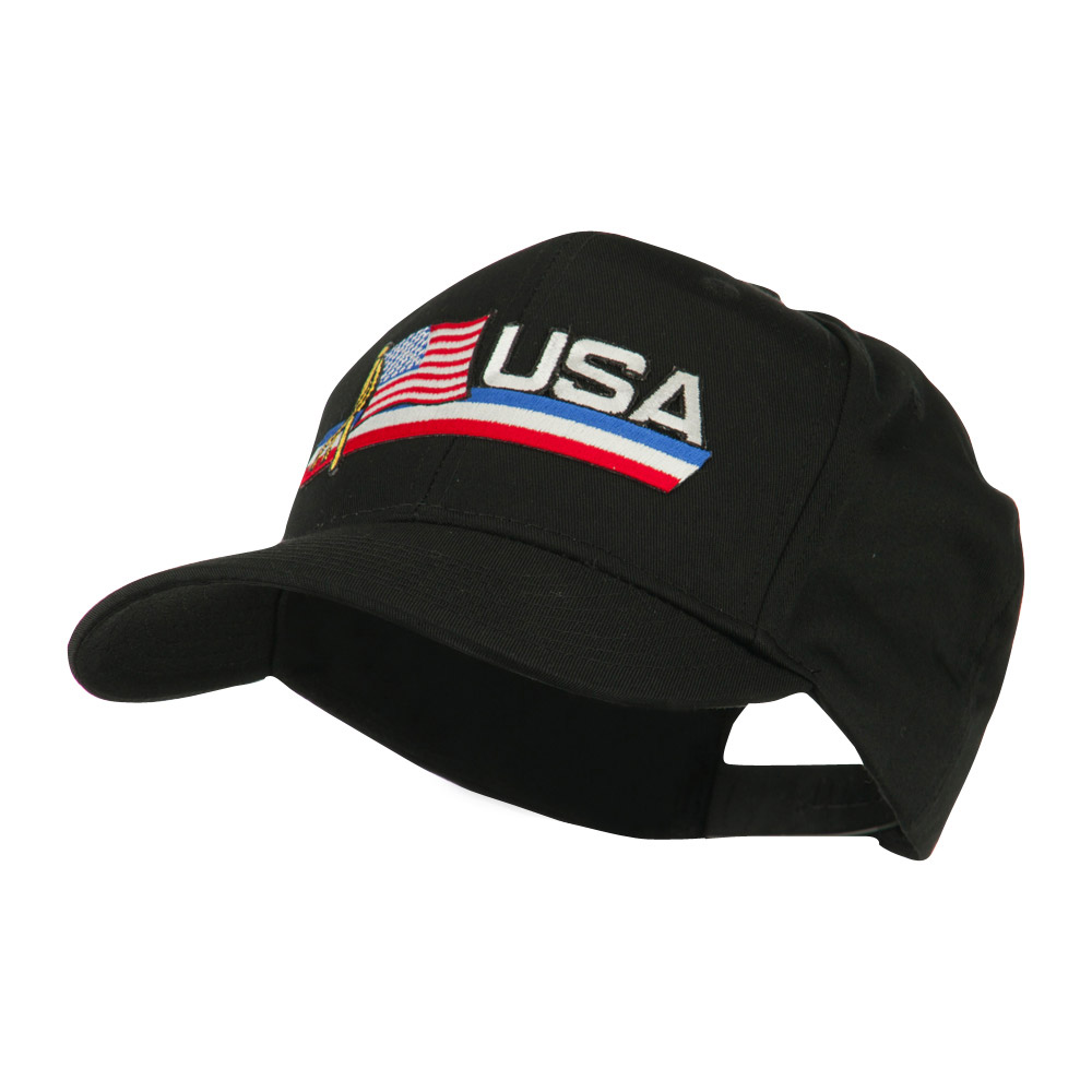 Flag and Name Patched Cap - USA - Hats and Caps Online Shop - Hip Head Gear