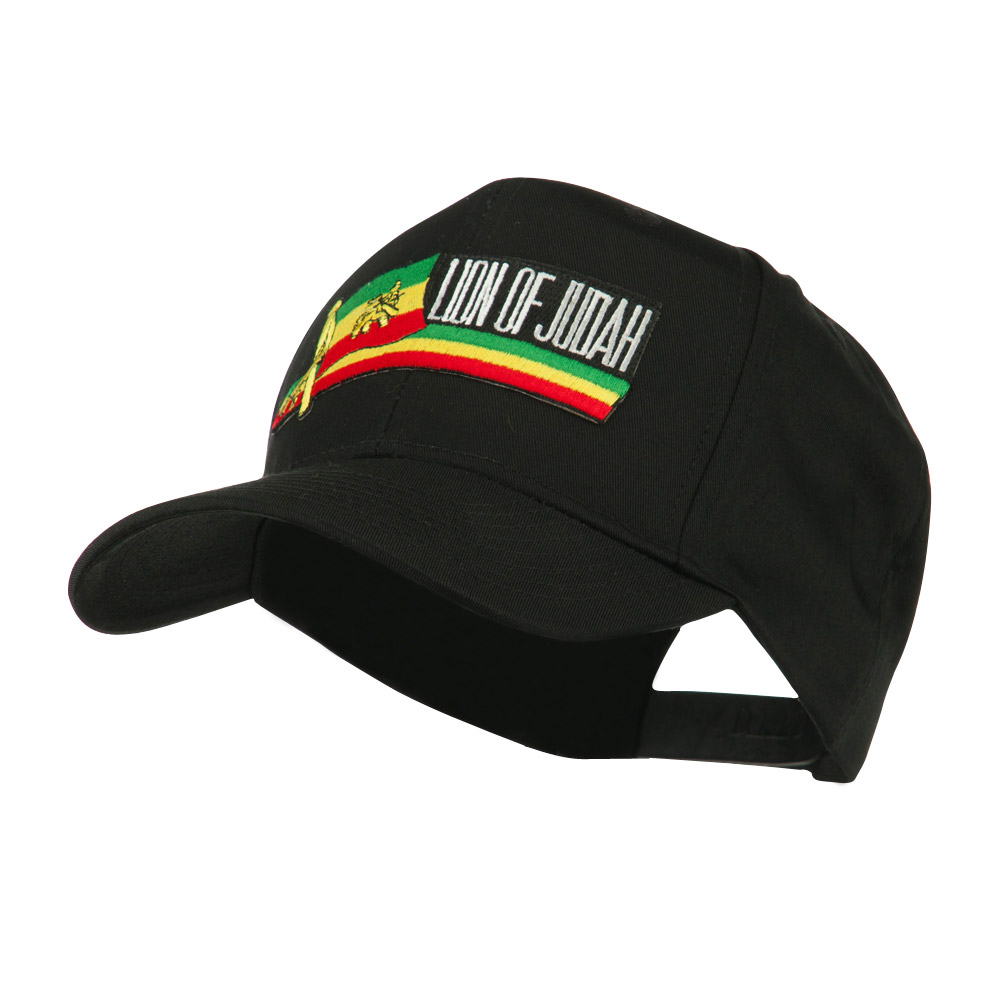 Flag and Name Patched Cap - Judah - Hats and Caps Online Shop - Hip Head Gear