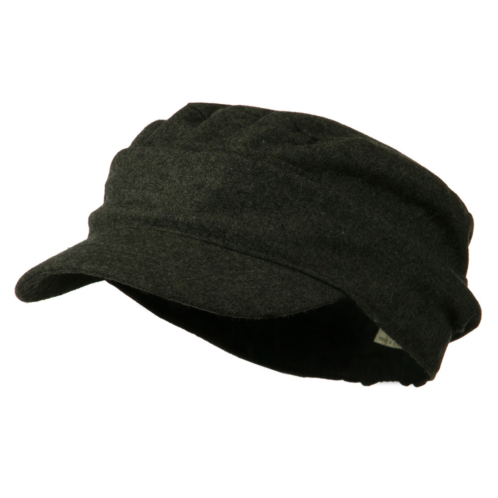 Folded Plain Army Cap - Grey - Hats and Caps Online Shop - Hip Head Gear