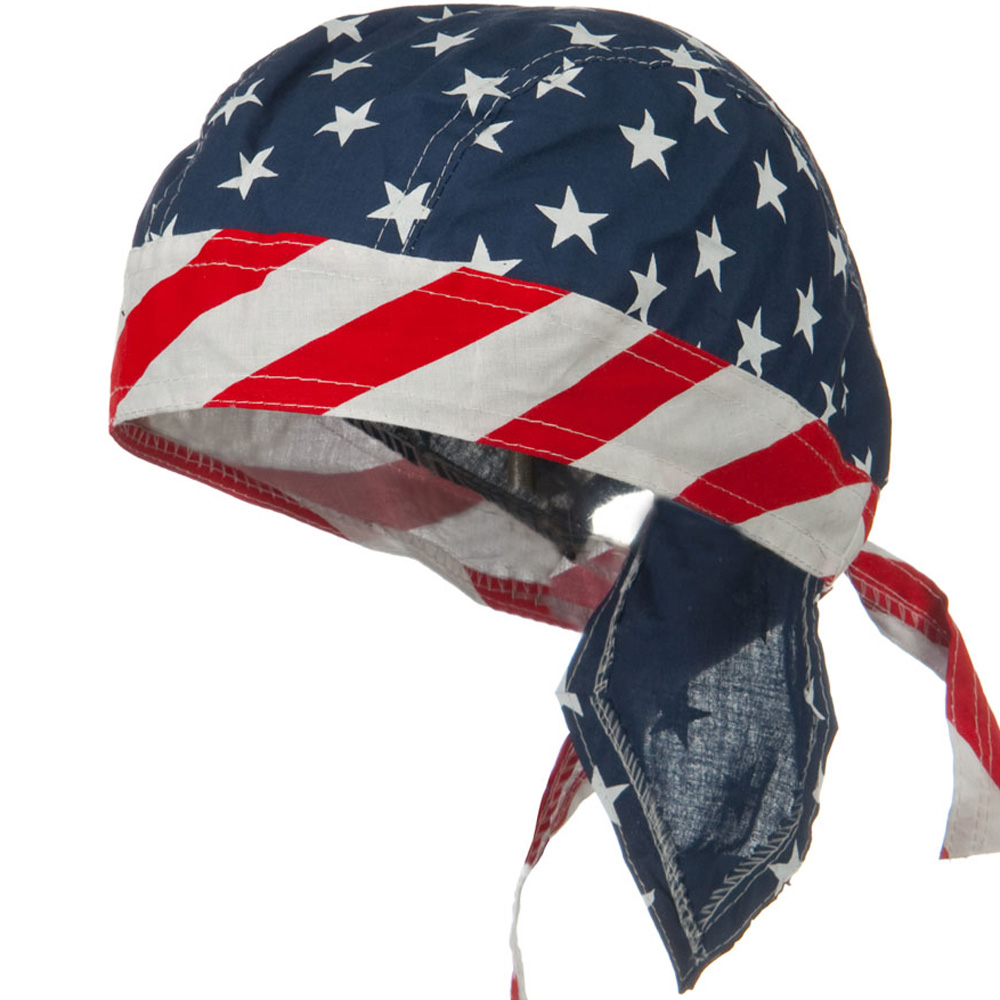 Flag Series Headwraps-Star Stripes IV - Hats and Caps Online Shop - Hip Head Gear