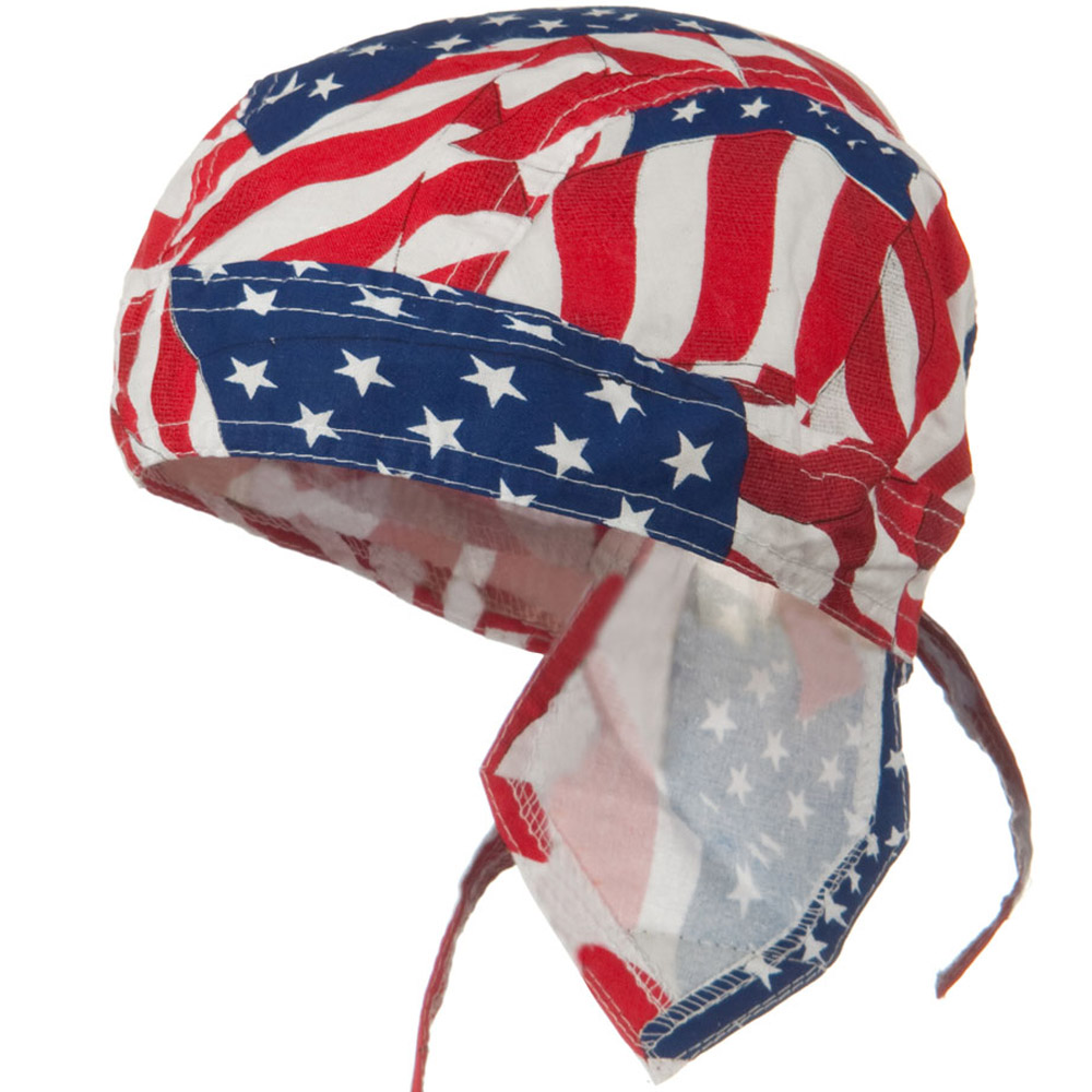 Flag Series Headwraps-Wavy American - Hats and Caps Online Shop - Hip Head Gear