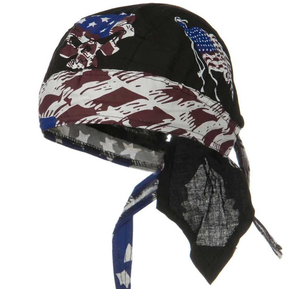 Flag Series Headwraps-Vintage Patriot - Hats and Caps Online Shop - Hip Head Gear
