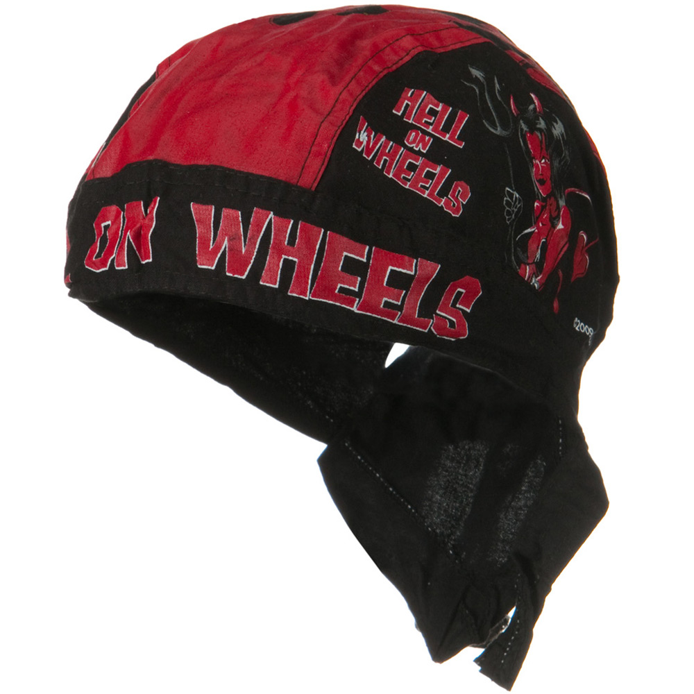 Flame Series Head Wrap-Hellon Wheels - Hats and Caps Online Shop - Hip Head Gear