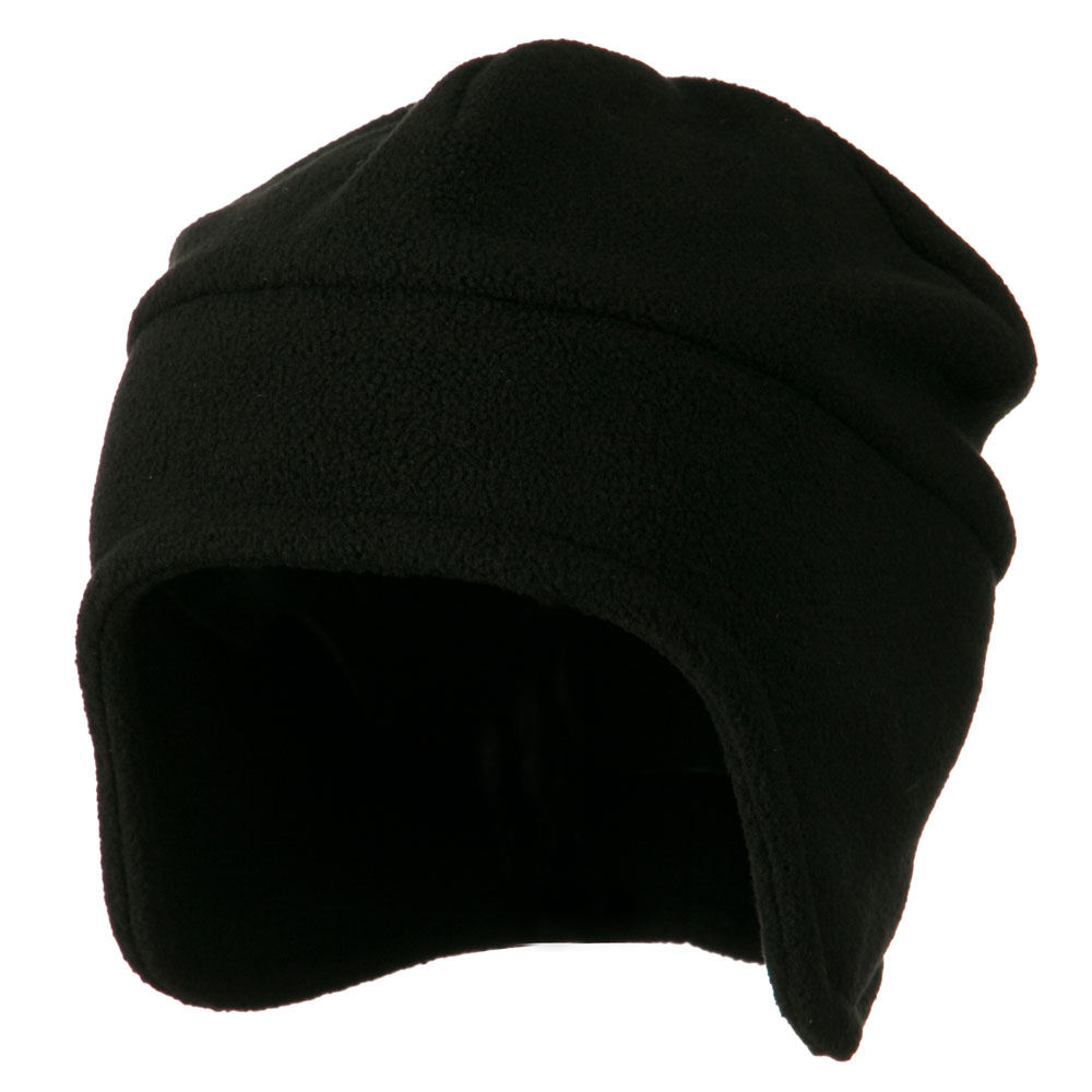 Fleece Togue Hat - Black - Hats and Caps Online Shop - Hip Head Gear
