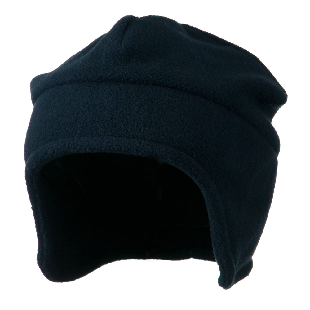 Fleece Togue Hat - Navy