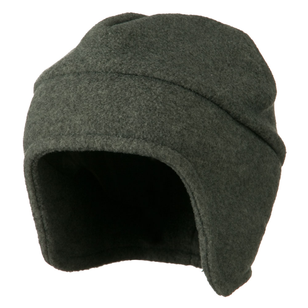 Fleece Togue Hat - Grey - Hats and Caps Online Shop - Hip Head Gear
