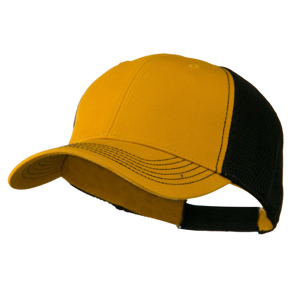 Fairway Trucker Cap - Gold Black - Hats and Caps Online Shop - Hip Head Gear