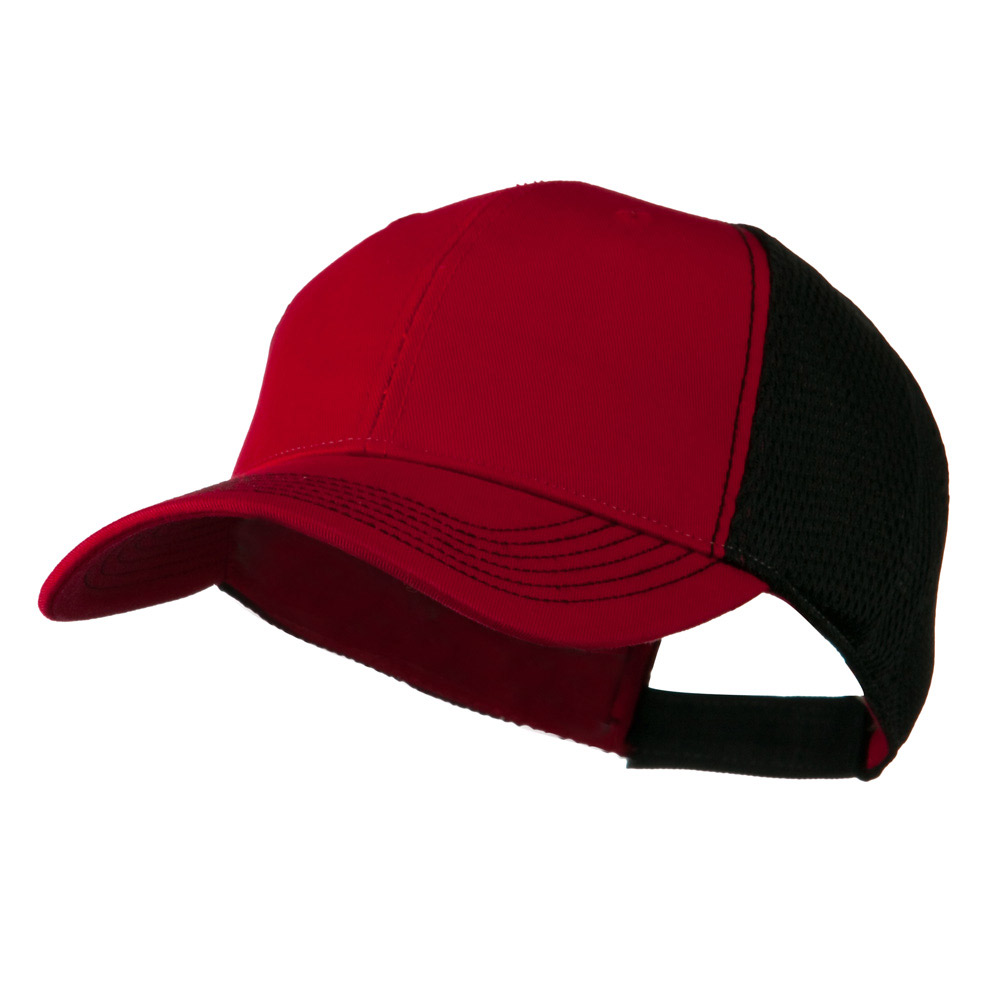 Fairway Trucker Cap - Red Black - Hats and Caps Online Shop - Hip Head Gear