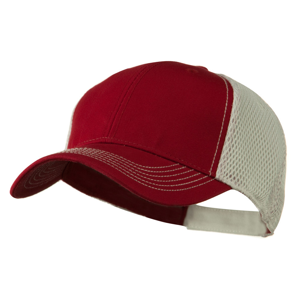 Fairway Trucker Cap - Maroon White - Hats and Caps Online Shop - Hip Head Gear