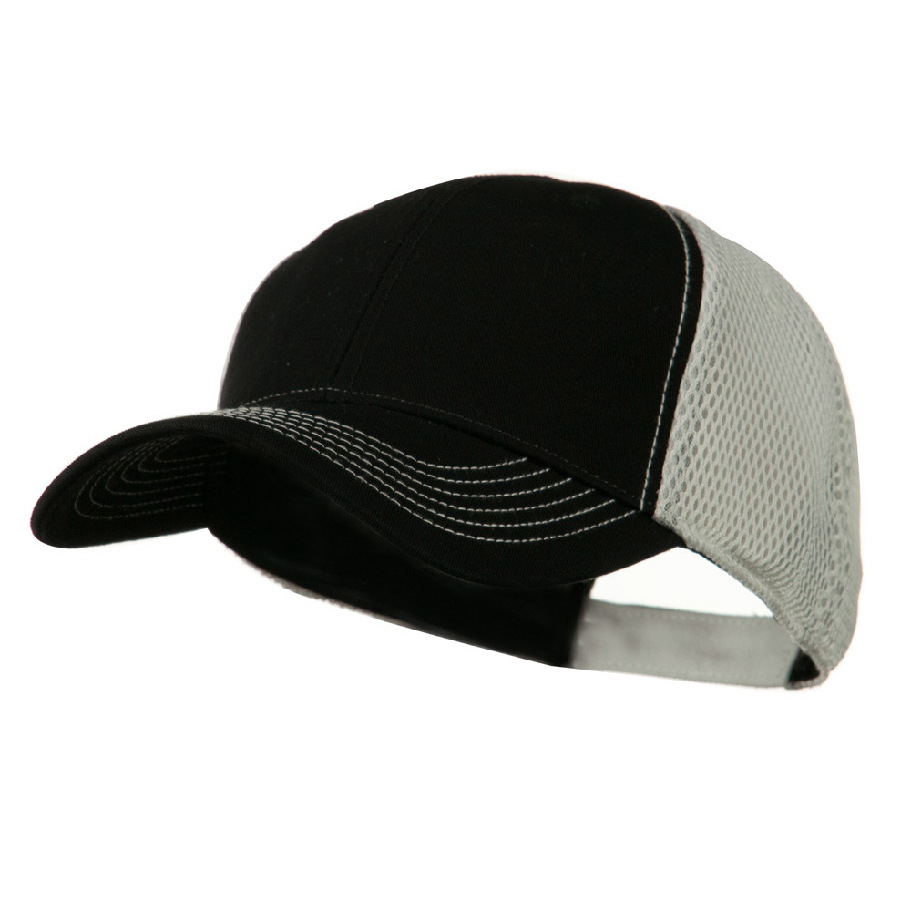 Fairway Trucker Cap - Black White - Hats and Caps Online Shop - Hip Head Gear