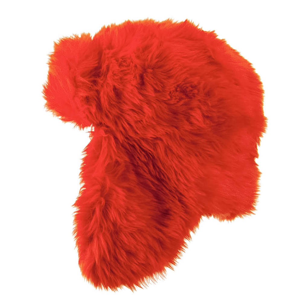 Faux Fur Color Trooper Hat - Orange - Hats and Caps Online Shop - Hip Head Gear