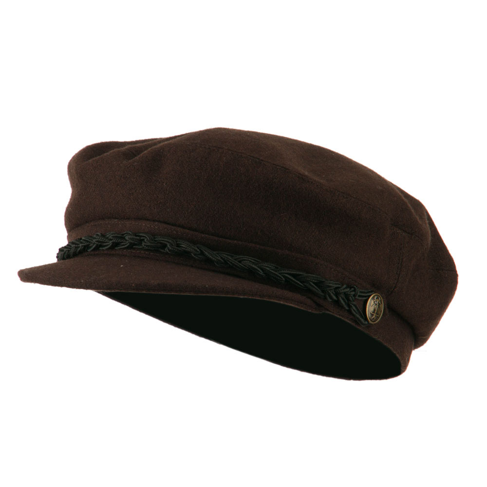 Greek Fisherman Hat - Brown - Hats and Caps Online Shop - Hip Head Gear