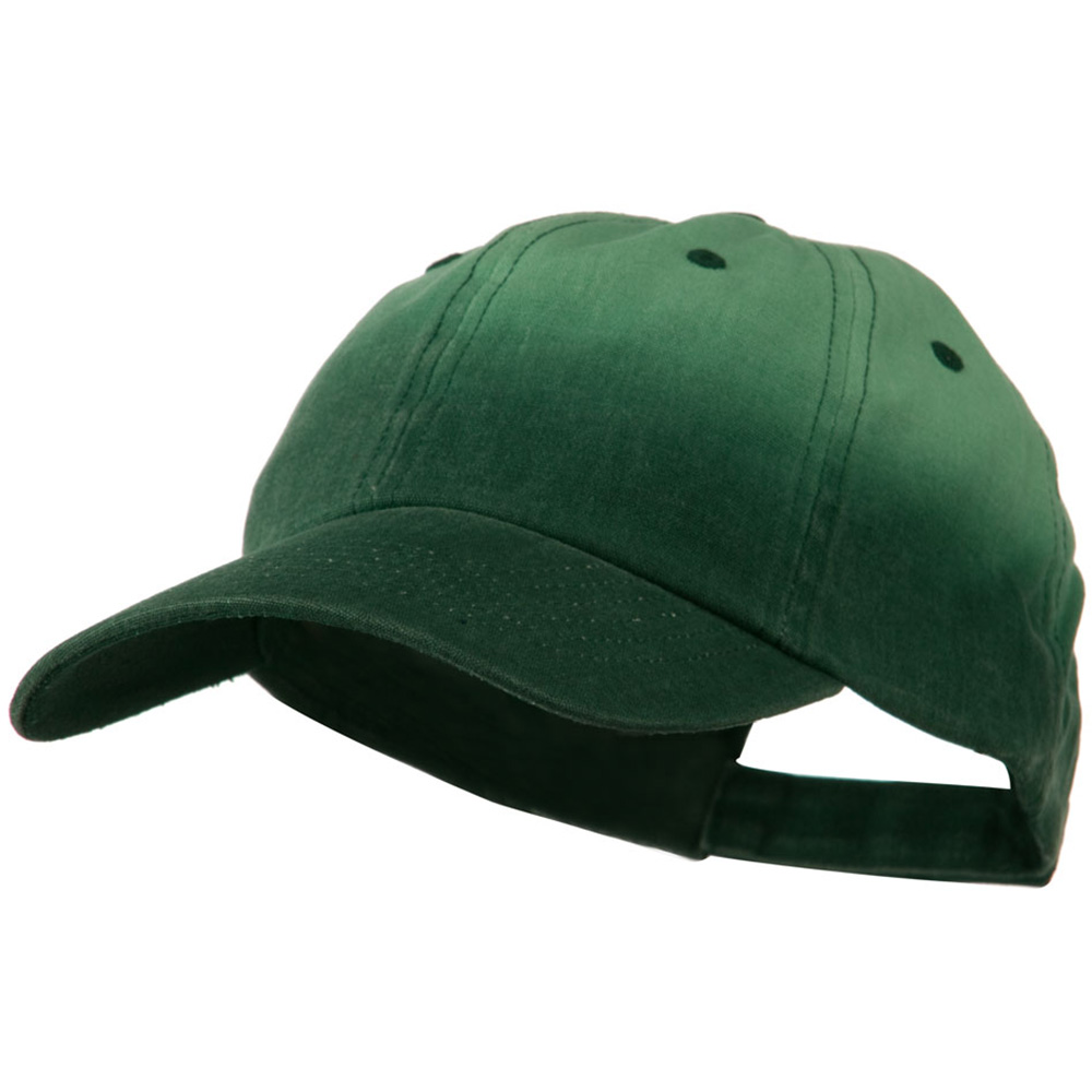 Low Profile Gradient Print Canvas Cap - Dark Green - Hats and Caps Online Shop - Hip Head Gear