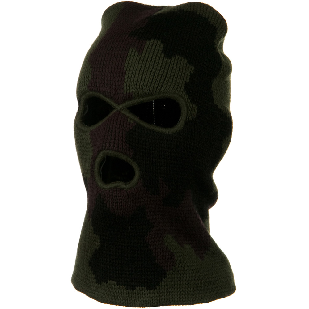 Heavy Weight Army Ski Mask - Camo - Hats and Caps Online Shop - Hip Head Gear