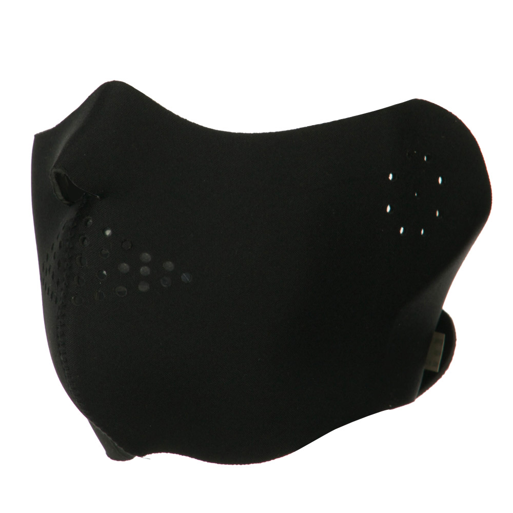 Half Cover Face Mask - Black