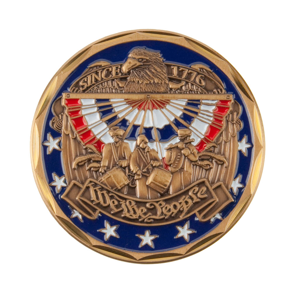 Hero Coin - Blue We The People