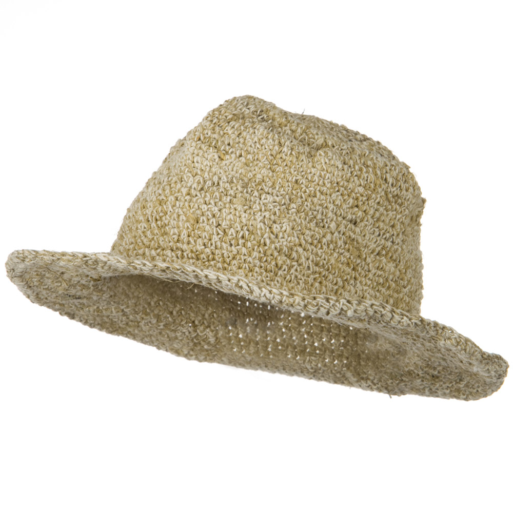 Plain Brim Hat