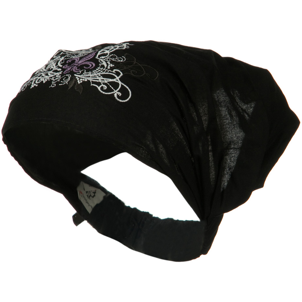 Anatony Highway Honey Headwrap - Fleur De Lis - Hats and Caps Online Shop - Hip Head Gear