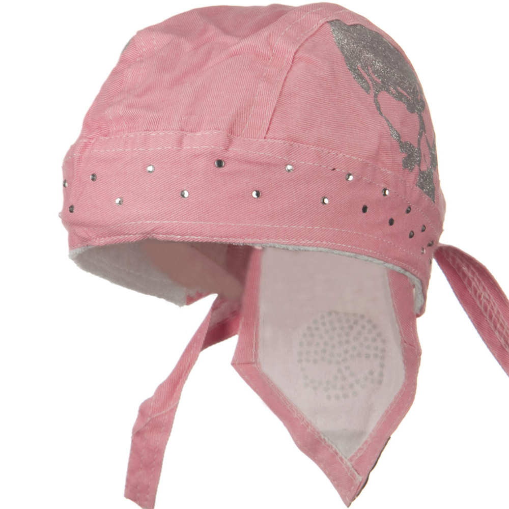 Highway Honey Trade Headwrap - Pink Skull - Hats and Caps Online Shop - Hip Head Gear