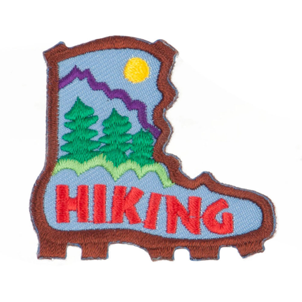 Hiking Outdoor Patches - Brown