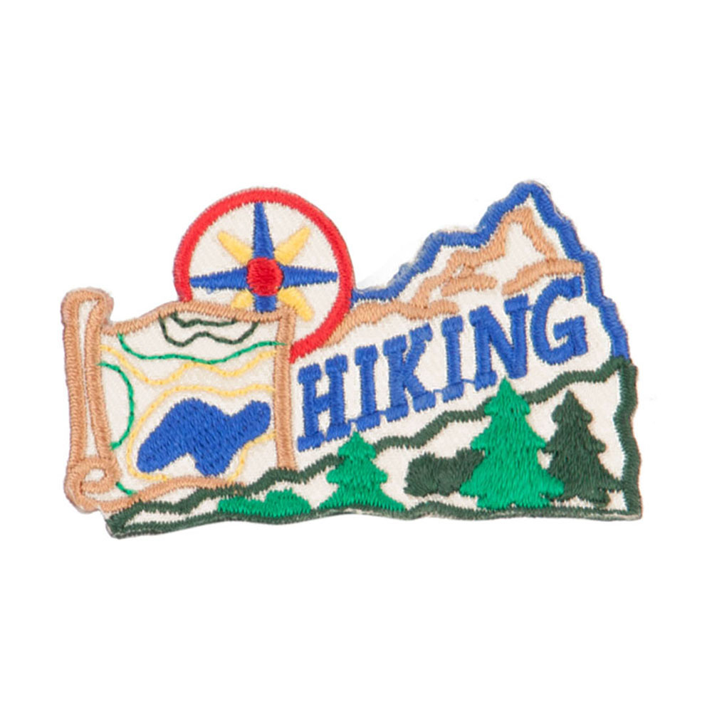 Hiking Outdoor Patches - Khaki