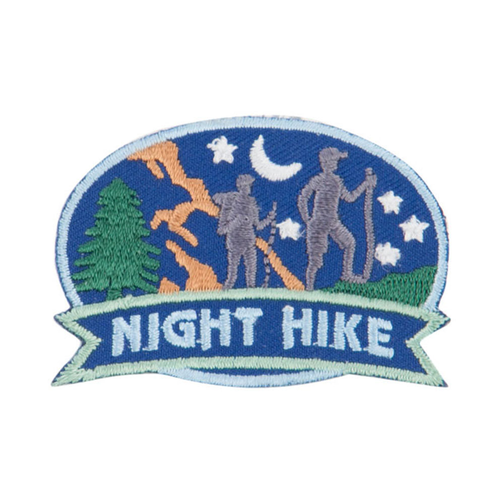 Hiking Outdoor Patches - Blue