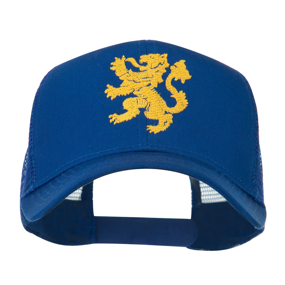 Heraldic Lion Embroidered Cap - Royal - Hats and Caps Online Shop - Hip Head Gear