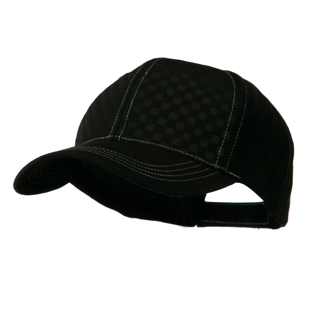 Hipster Two Tone Ball Cap - Black Black - Hats and Caps Online Shop - Hip Head Gear